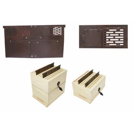 Beehive vertical divider adjustable Langstroth Beehives