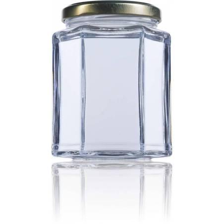 Envase de miel hexagonal 390 ml ENVASES