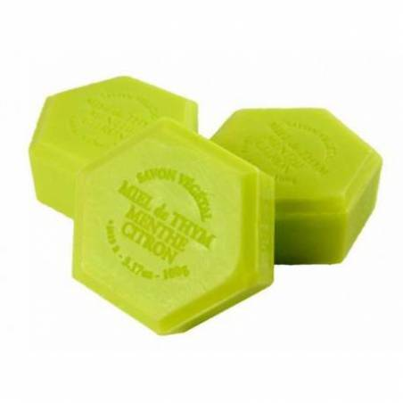 Honey soap with mint Cosmetics