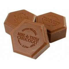 Honey soap with chocolate