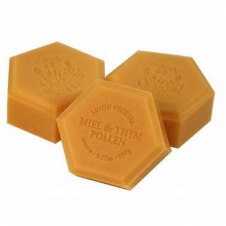 Honey soap with bee pollen Cosmetics