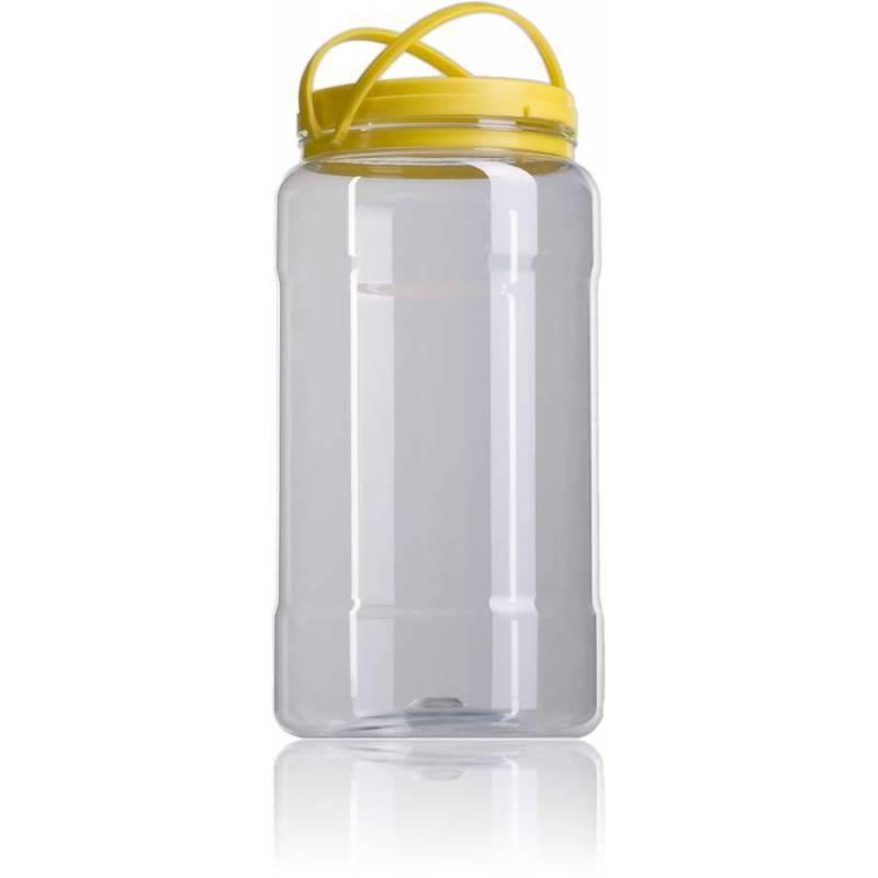 Garrafa plástico 5kg miel Envases de plástico