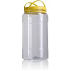 Garrafa plástico 3kg miel Envases de plástico