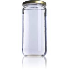 Envase miel 1kg liso V720 Tarros de cristal para miel