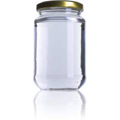 0.5kg Crystal Jar A370 Honey Crystal Jars