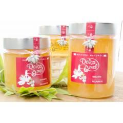 Glass Jar High Mouth 212ml Honey Crystal Jars