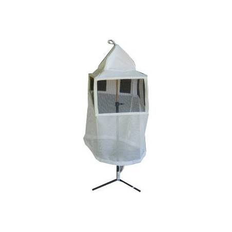 Square veil with elastics CLOTHING