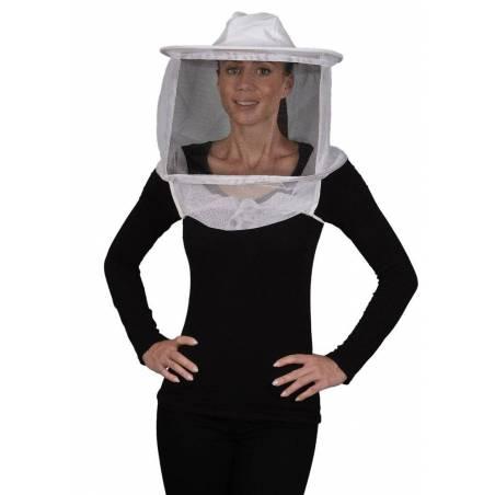 Voile rond avec chapeau souple Voiles et chapeaux d'apiculture