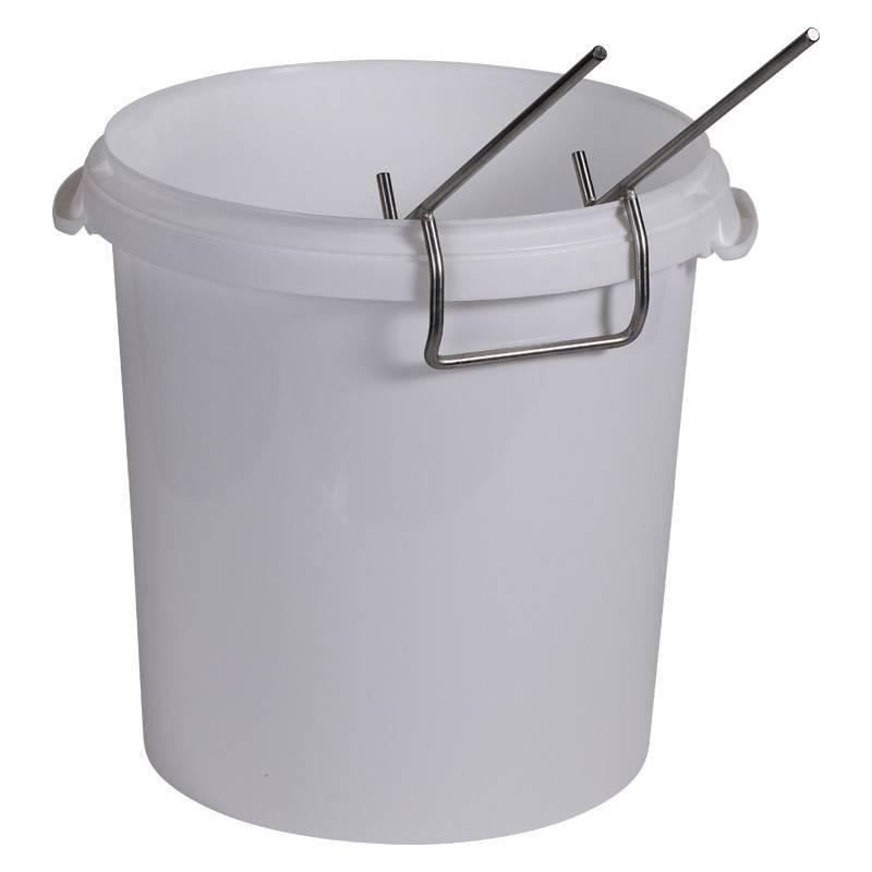 Big bucket bench pail perch Honey tanks