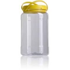 Bidon en plastique pour le miel 2kg Pots en plastique