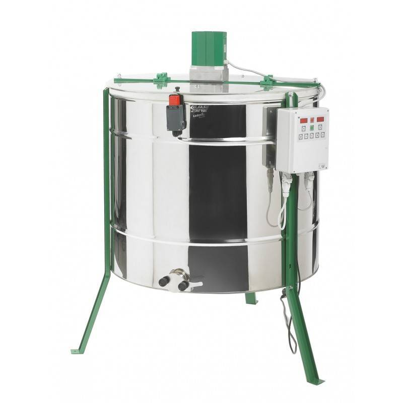 Extractor XSARA® reversible 9 cuadros Langstroth Extractores de miel