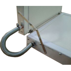 Estampadora de cera refrigerada Langstroth Estampadora de láminas