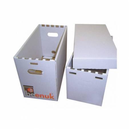Beenuk Waxed Cardboard Dadant Swarm Trap NUC HIVES