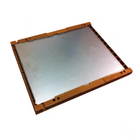 Plancha metálica para base Nicot Colmenas y cuadros de Plástico
