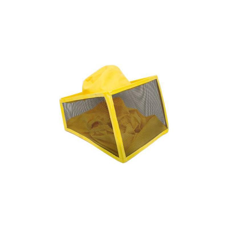 Voile carrée à grille en aluminium Voiles et chapeaux d'apiculture