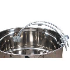"""Support de tuyau en acier inoxydable pour 40 (1 1/2"""") Pompes à miel"""