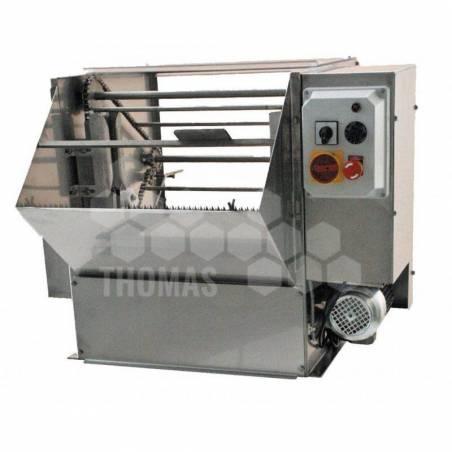 Machine à desoperculer à lames vibrantes ALPHA PLUS Désoperculation