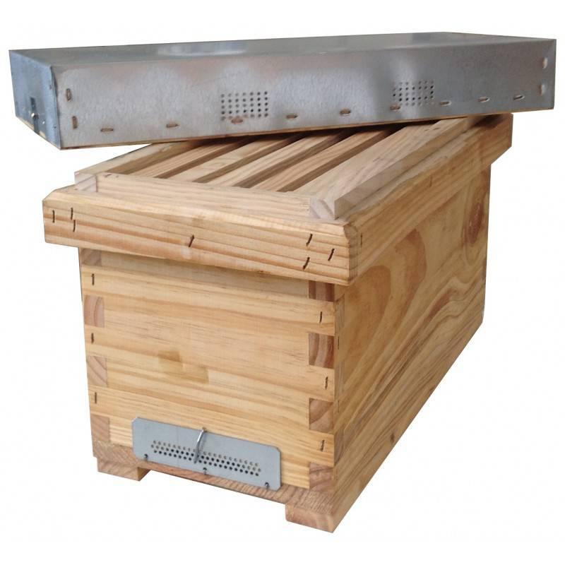 Langstroth Nuc 5F wood NUC HIVES