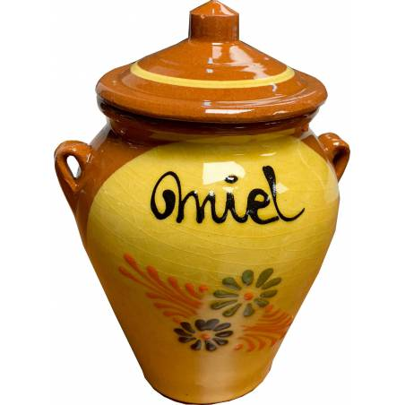Dérive décorée 1 kilo de miel Emballage