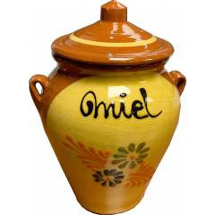 Orza decorada 1 kilo de miel HONEY PACKAGING