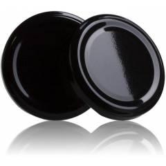 Tapa TO 66mm negra pasteurizable Tapas y cierres