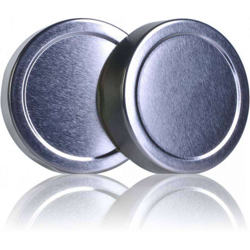 TO 66mm lid high silver Caps and closures