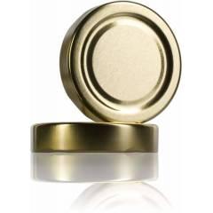 Tapa TO 82mm ALTA dorado pasteurizable Tapas y cierres