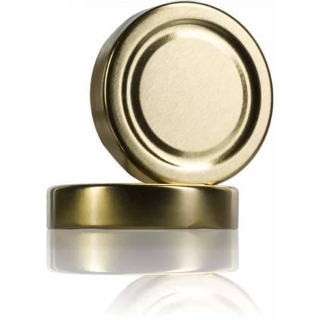 TwistOff 82 lid high golden Caps and closures