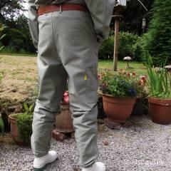 Pantalon BJ Sherriff original kaki Combinaisons