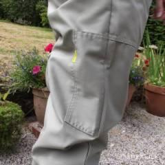 Pantalon BJ Sherriff original kaki Combinaisons et Blousons