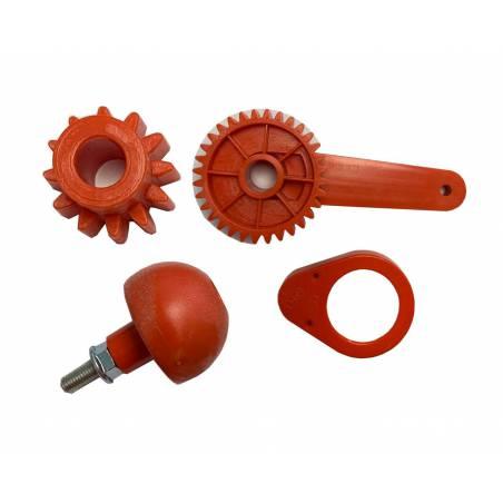 Ensemble manivelle et engrenage de l'extracteur ME Accessoires pour extracteurs