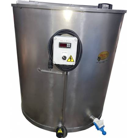 Heated Stainless Steel Honey Tank 1000kg Honey tanks