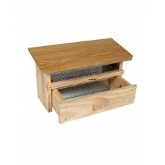 Cazapolen de madera