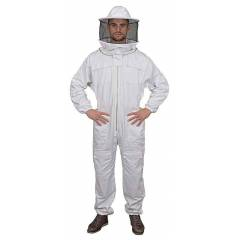 Beekeeper suit with round veil