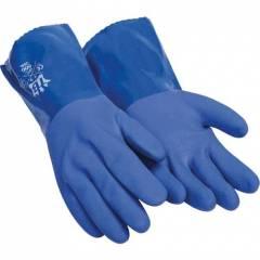 Guante PVC azul Guantes