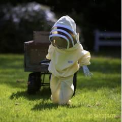Bj Sherriff Niños - Child's two piece Buttermilk Trajes de apicultor