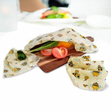 Envoltorio de cera abeja para alimentos CERA