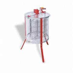 Transparent manual honey extractor Tangential Extractors