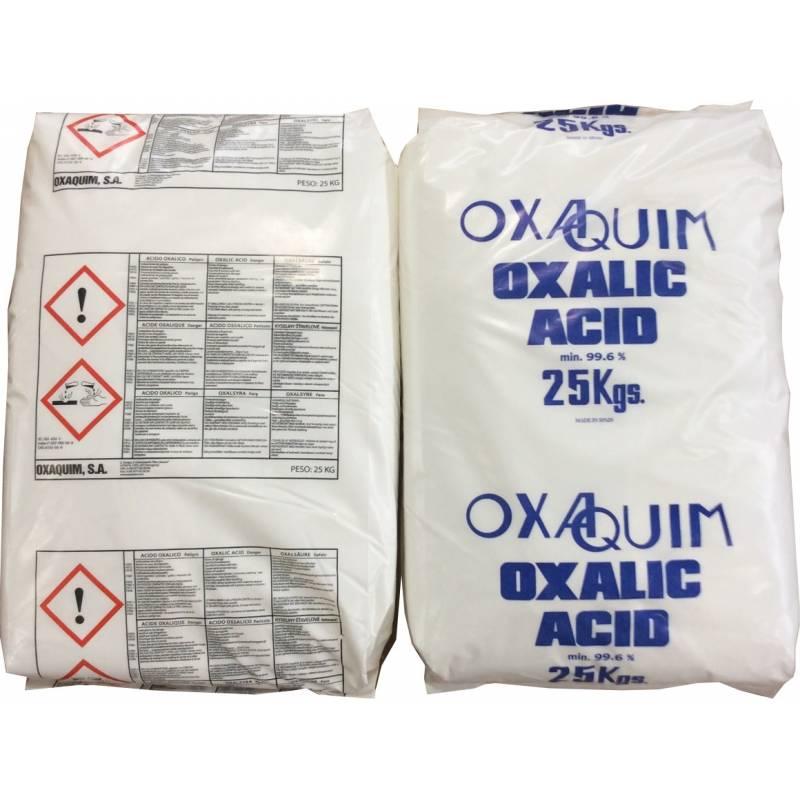 Oxalic Acid [OX / OXA] 25kg bags BEE HEALTH