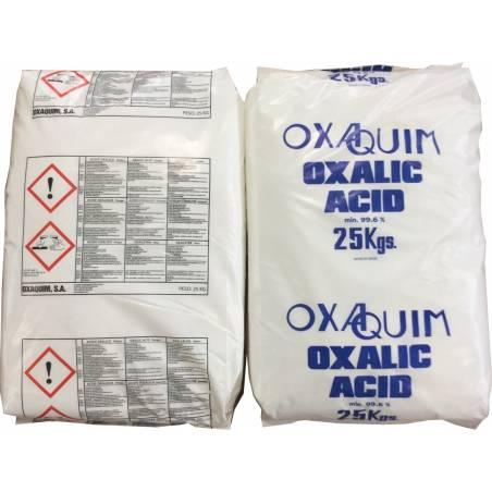 Ácido Oxálico 99% 25KG SANIDAD