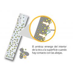 APIVAR® varroa (5 ruches) Les Médicaments Contre Le Varroa (prescription vétérinaire)