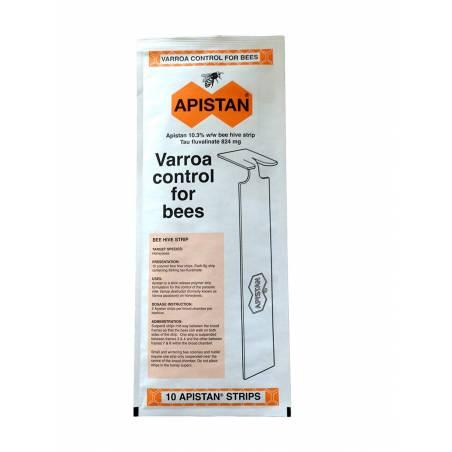 Apistan varroa (sobre 5 colmenas) Medicamentos contra varroa