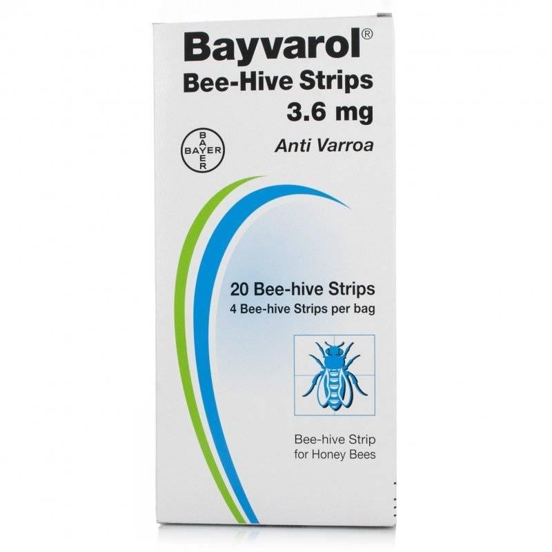 Bayvarol Bayer varroa (1 colmena) Medicamentos contra varroa (con receta)