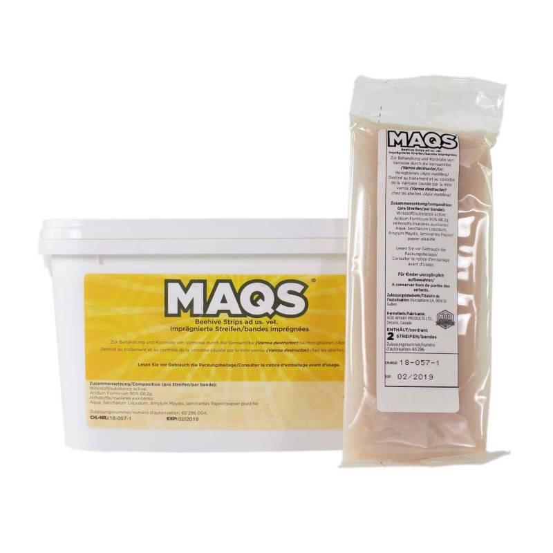 MAQS Varroa treatments