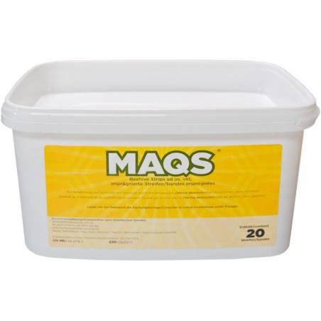MAQS Varroa formic (10 ruches) Les Médicaments Contre Le Varroa (prescription vétérinaire)