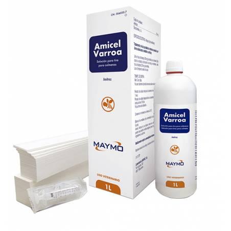 Amicel varroa 1L (50 ruches) Les Médicaments Contre Le Varroa (prescription vétérinaire)