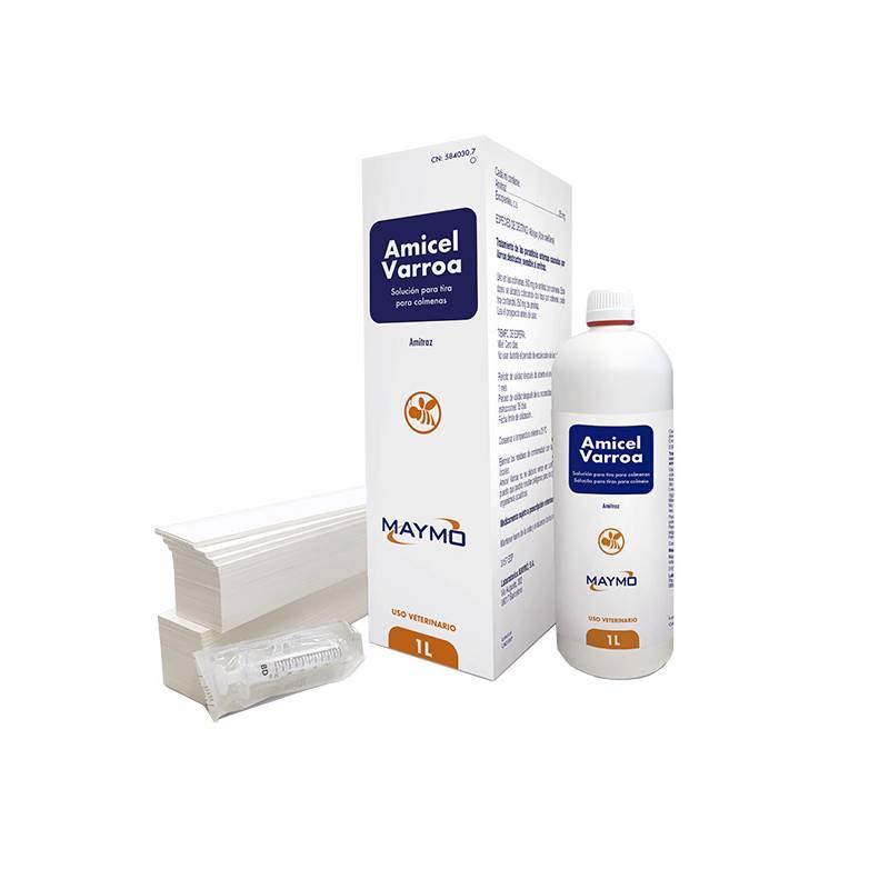 Amicel varroa 250ml (12 ruches) Les Médicaments Contre Le Varroa (prescription vétérinaire)