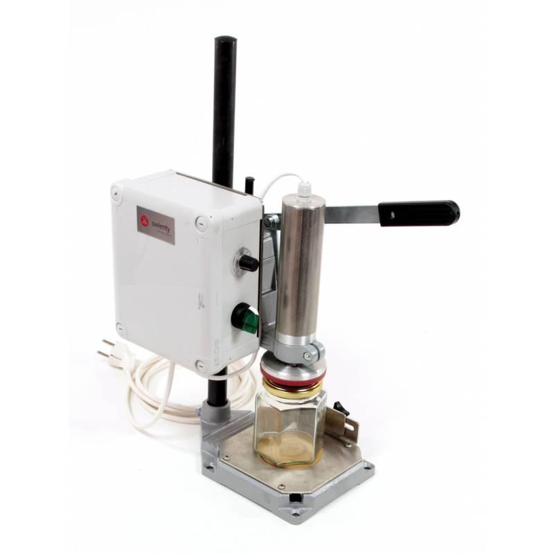 Manual Lid-fitter Honey filling machines