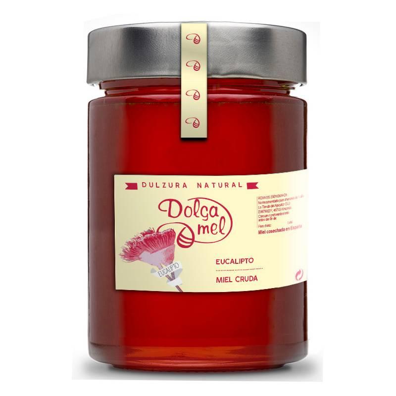 Miel de Eucalipto cruda 900g Miel