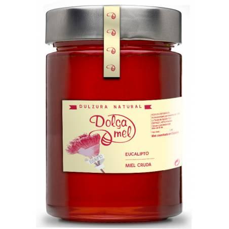 Miel d'eucalyptus cru 900g Miel